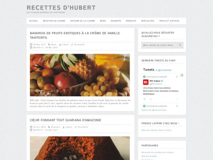 recettes-hubert.com