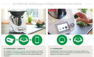 Robot connecté Thermomix